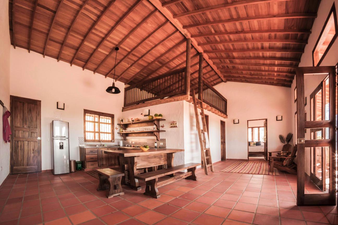 Interior image of Finca Mariposa Jardin