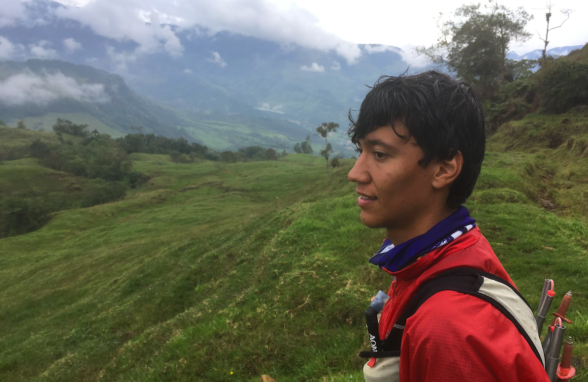 Diego - the hiking guide at Finca Mariposa Jardin
