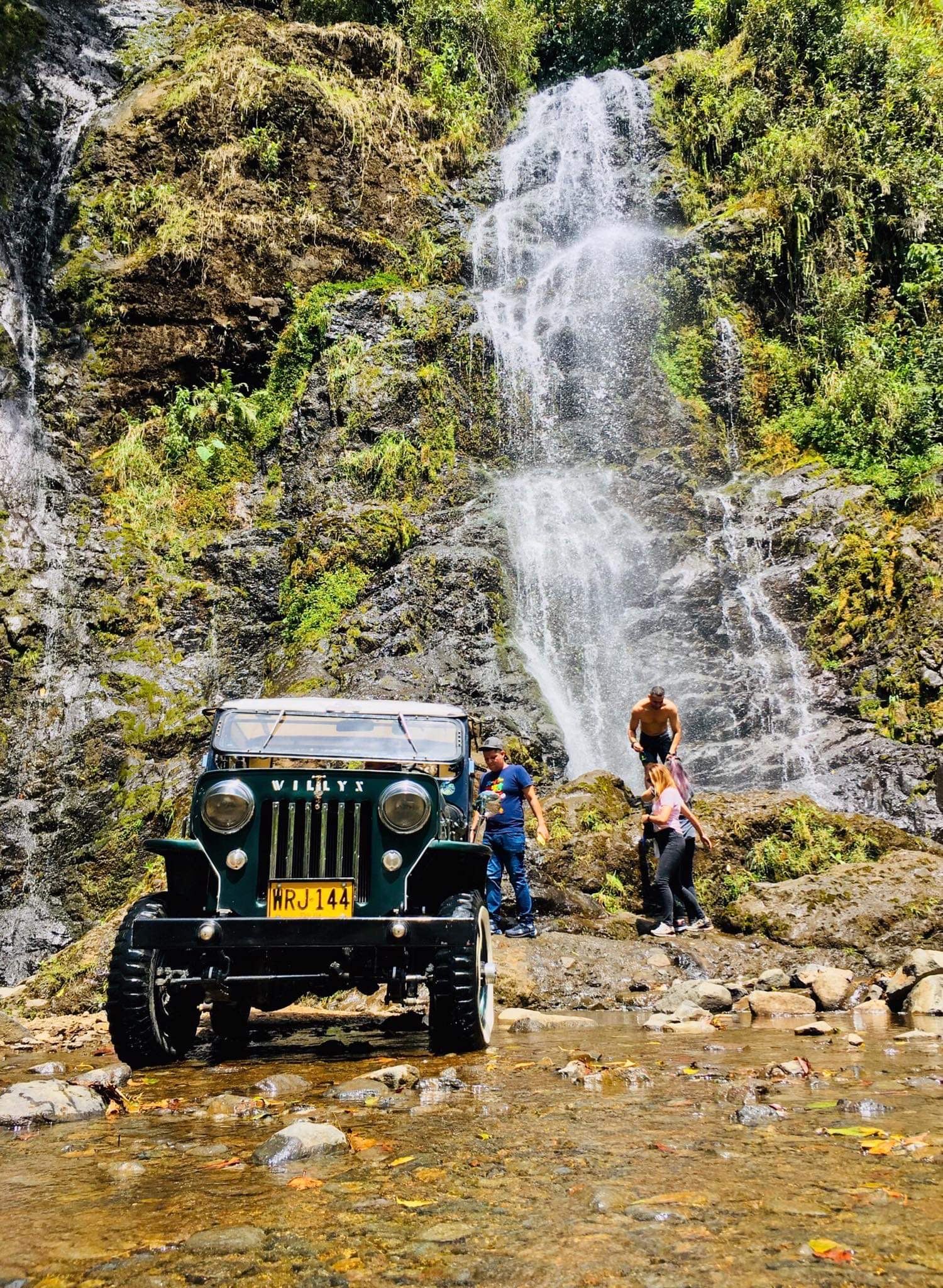Come to Finca Mariposa for Jardin's best Jeep Tours in a 1954 Classic Willys.