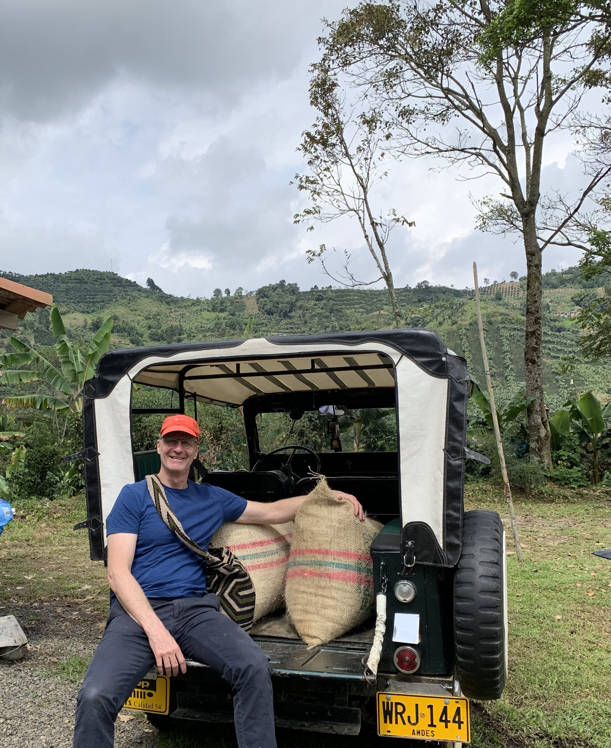 World famous Colombian Coffee!